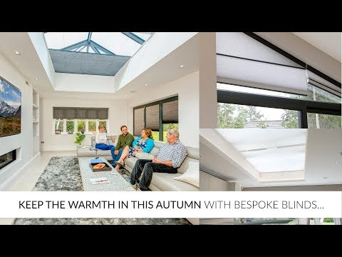 Keep the Warmth in This Autumn with Bespoke Blinds