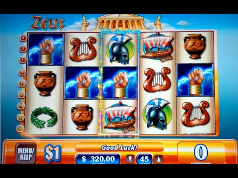 Zeus Slot $45 Max Bet Live Play and Bonus *JACKPOT HANDPAY* High Limit Slots! - 동영상