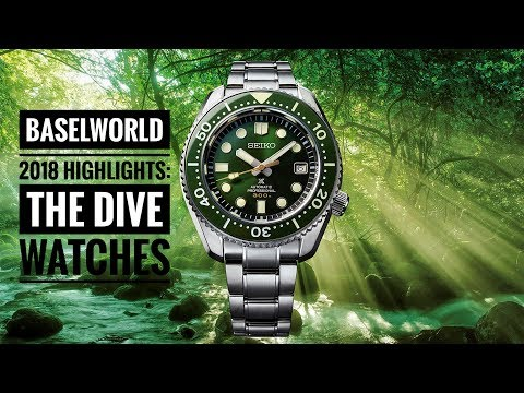 Baselworld 2018 Highlights: The Dive Watches