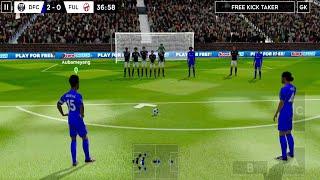 لعبة كرة القدم قم ببناء فريق الأحلام الخاص بك -Dream League Soccer 2020 Android Gameplay