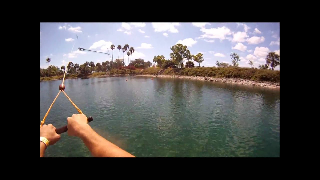 Broward County Parks Ski Rixen Cable Waterskiing At Quiet Waters Park