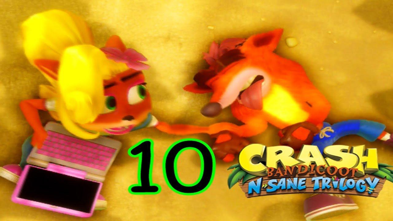 Crash N Sane Trilogy [Parte 10] en Español por Marco Hayabusa - YouTube