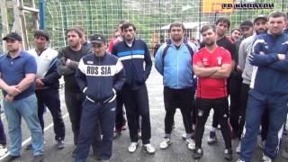 Открытие турнира по волейболу в с. Килятли Гумбетовского района.