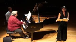 """Chopin Chant Polonais """"Message""""  Zeina DORKHOM Mezzo soprano & Gilles LANDINI piano"""