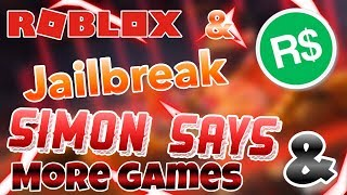 🔴(Roblox)🔴| NEUE Jailbreak-Update HELI💣BOMBS💣| Simon Says & MORE🔴COME JOIN!