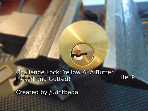 [52] Challenge Lock: Yellow (AKA Butter) Picked and Gutted!