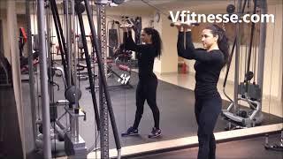 Упражнения на бицепс со штангой гантелями как накачать