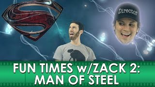 "Fun Times with Zack 2: Man of Steel Movie ""Review"" (Belated Media)"