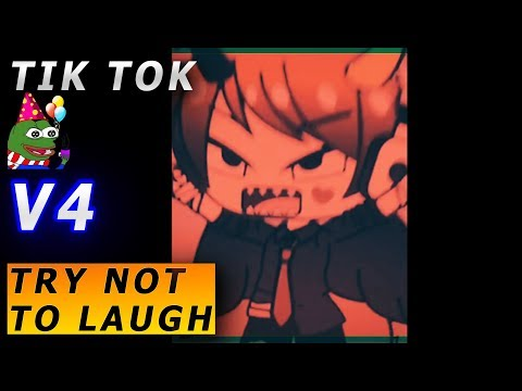 Gacha TIK TOK compilation ⚠️😈TROLLS TRY NOT TO LAUGH ⚠️BEST v4👹😈 EXTREMLY FUNNY  WARNING! ⚠️