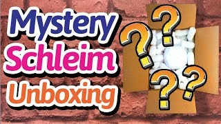MYSTERY Schleim Unboxing - ich bestelle und bewerte Slime aus Amerika!!
