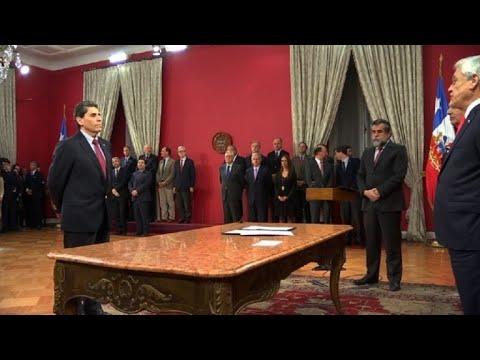 Chile: dimite ministro que criticó museo de víctimas de Pinochet