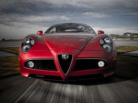 first test alfa romeo 8c competizione youtube. Black Bedroom Furniture Sets. Home Design Ideas
