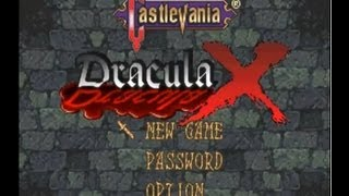 SNES Longplay : Castlevania Dracula X Rondo Of Blood Walkthrough
