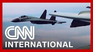 China sends warplanes into Taiwan's air defense zone, Taipei says