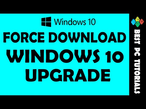 Force Download Windows 10 Upgrade Files