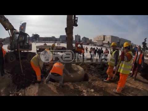 """Ora News – Sheshi """"Skënderbej"""" nis të gjelbërohet"""