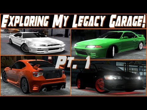 Such A Long Time Ago.. | Racing Rivals - Exploring My Legacy Garage Part 1