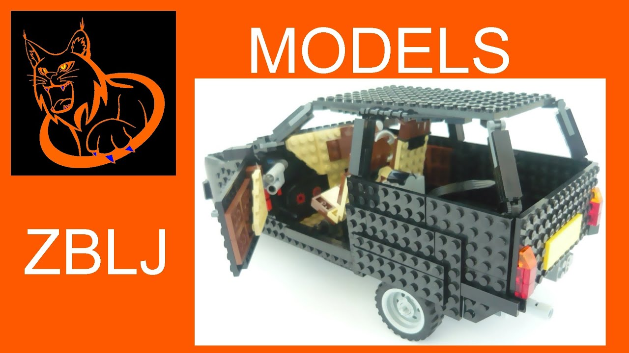 Lego Reliant Robin Crashes Youtube