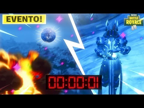 EXPLOTA LA ESFERA DE HIELO EN DIRECTO! FORTNITE: Battle Royale