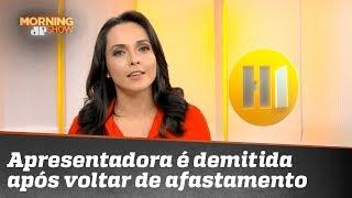 Apresentadora da TV Globo é demitida após voltar de afastamento médico