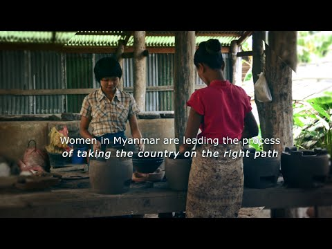 Building a greener Myanmar with cleaner cookstoves