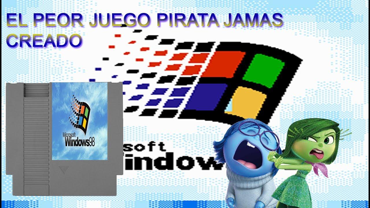 Juegos Piratas Mediocres Windows 98 Nes Loquendo Youtube