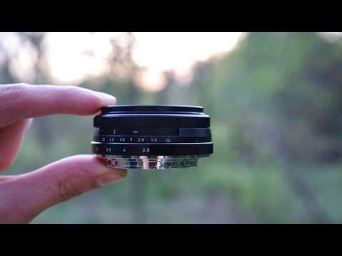Meike 28mm F2.8 Pancake Lens For E-Mount