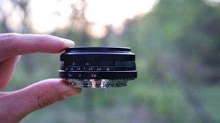 Майці 28мм Ф2.8 Об'єктив Млинець Для E-Маунта