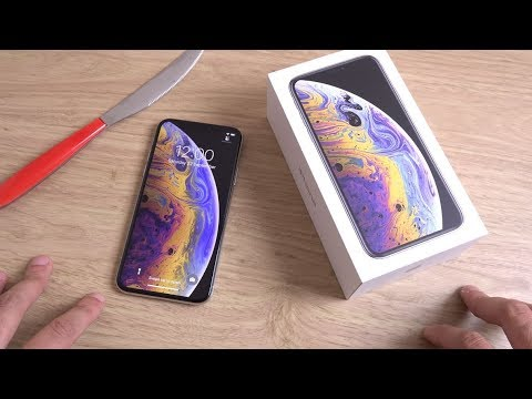 iPhone XS - Unboxing!