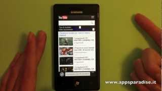 Video recensione ''Film OnLine'' per Windows Phone by AppsParadise