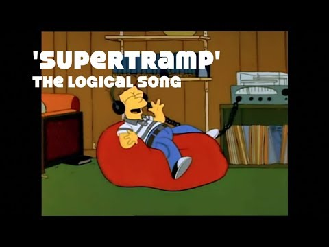 The Simpsons/Futurama vs Supertramp - The Logical Song