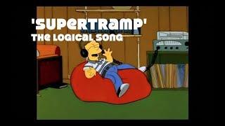 Video The Simpsons/Futurama vs Supertramp - The Logical Song download MP3, 3GP, MP4, WEBM, AVI, FLV November 2018