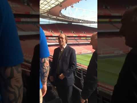 We Met Arsenal And Derby Legend Charlie George At The Emirates!!!
