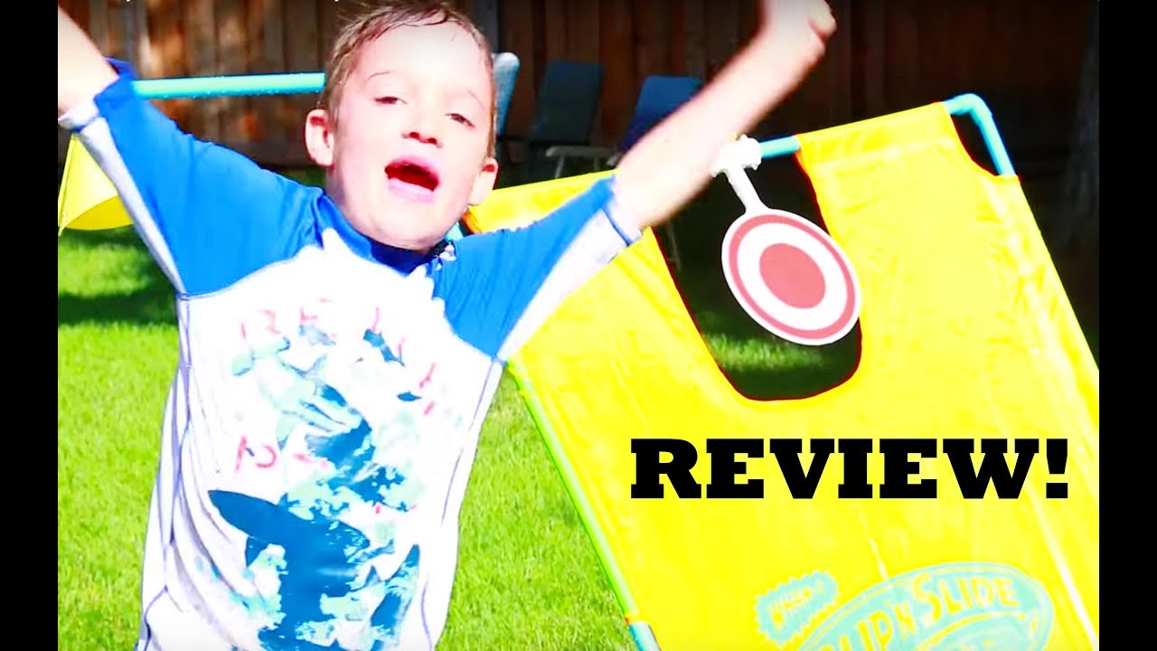 Outdoor Toy Fun DUNK TANK Toy Review