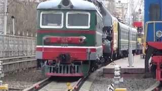 видео Музей истории железнодорожной техники на Рижском вокзале