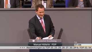 Manuel Höferlin - Rede zum eGovernment-Gesetz am 18.04.2013
