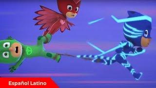Pj masks heroes en pijamas en español latino episodio estreno Despacio Catboy completo
