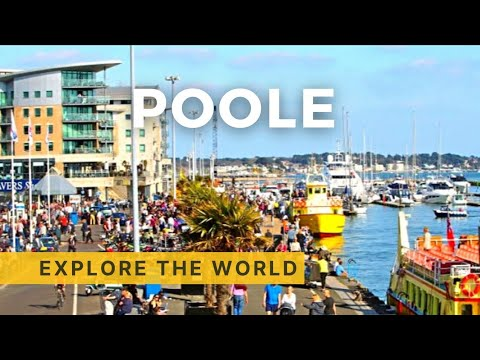 Walking in Poole, UK
