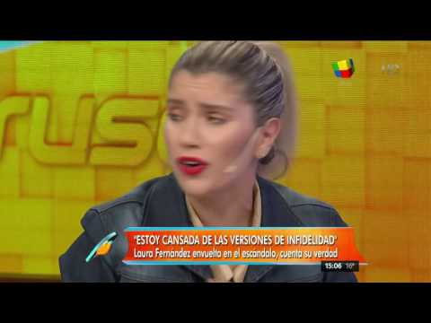Habló Laurita Fernández: Fede Hoppe no duda de Federico Bal