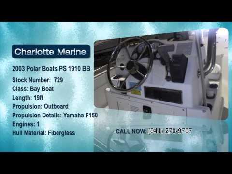2003 Polar Boats PS 1910 BB
