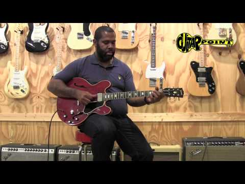 Kirk Fletcher plays a 1963 Gibson ES-335 CH at GuitarPoint Maintal / Vintage Guitars