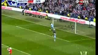 Video Man City 3-2 QPR,Sunderland 0-1 Man Utd Highlights and Goals Man City wins the League! .flv