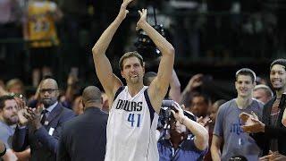 Dirk Nowitzki Scores 30,000th Career Point, LeBron Kobe and NBA Legends REACT