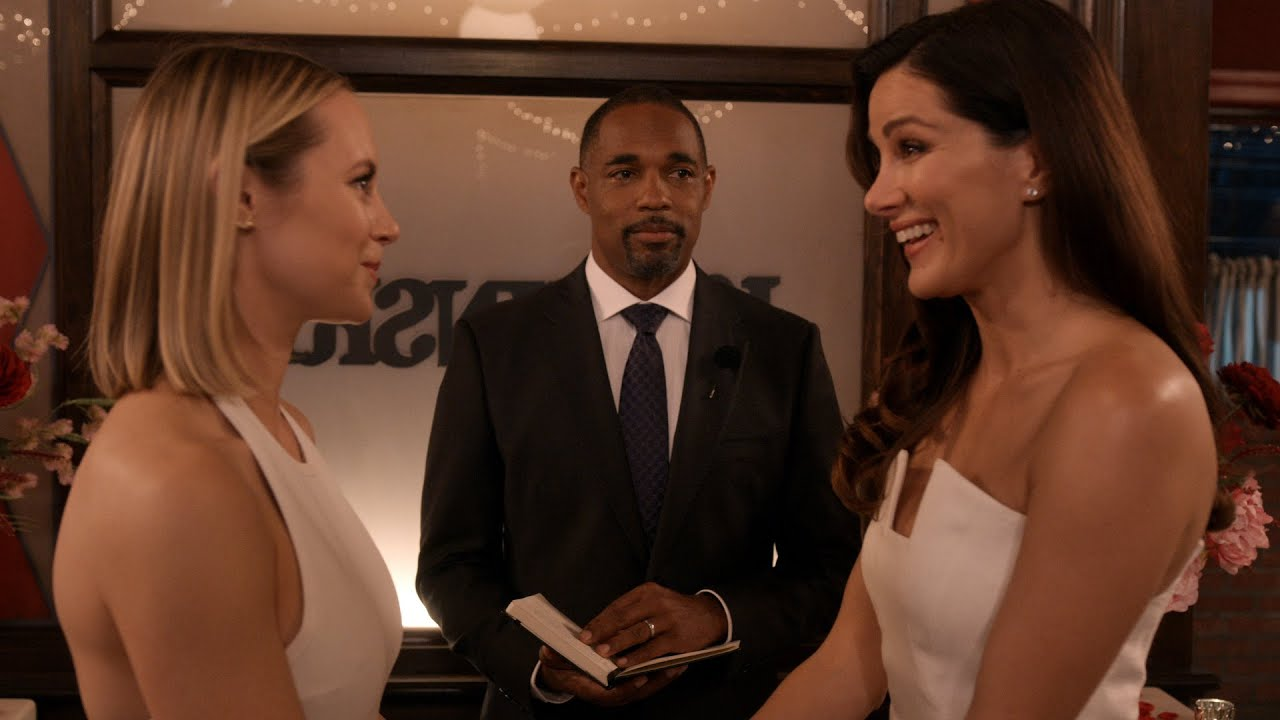 Download Maya and Carina Get Married - Station 19