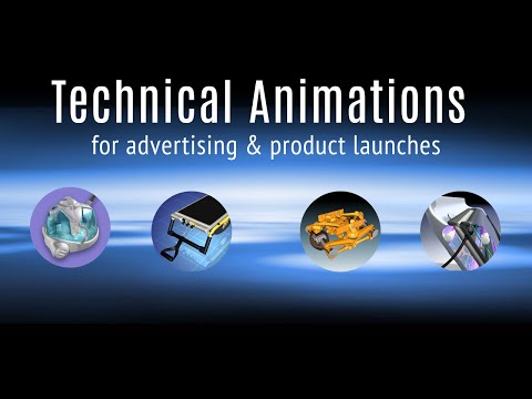 3D Technical Animations 2016 Demo