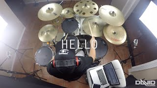 Adele (Conor Maynard Ft. Anth)- Hello (David Drummer Drum Cover)