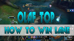 OLAF GUIDE: Pre-Season 6 | Olaf vs Kennen - How to Win Any Lane! | Ranked NA Commentary