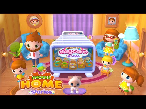 Sweet Home & Happy Daycare Stories | Epic Mix (Android Gameplay) | Cute Little Games