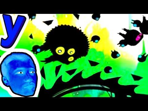 Черная ПТИЦА ШАР! Опасное путешествие по ТЕМНОМУ Миру СТРАХА и УЖАСОВ! #252 Мультик ИГРА для детей