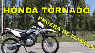 Honda Tornado 250 Review Prueba de manejo Test Ride Opinion
